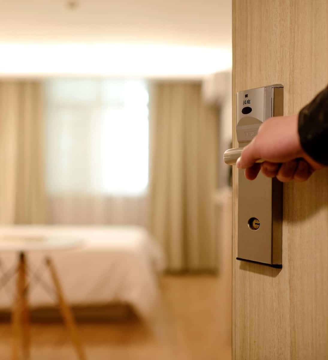 Modern hotel room NYC